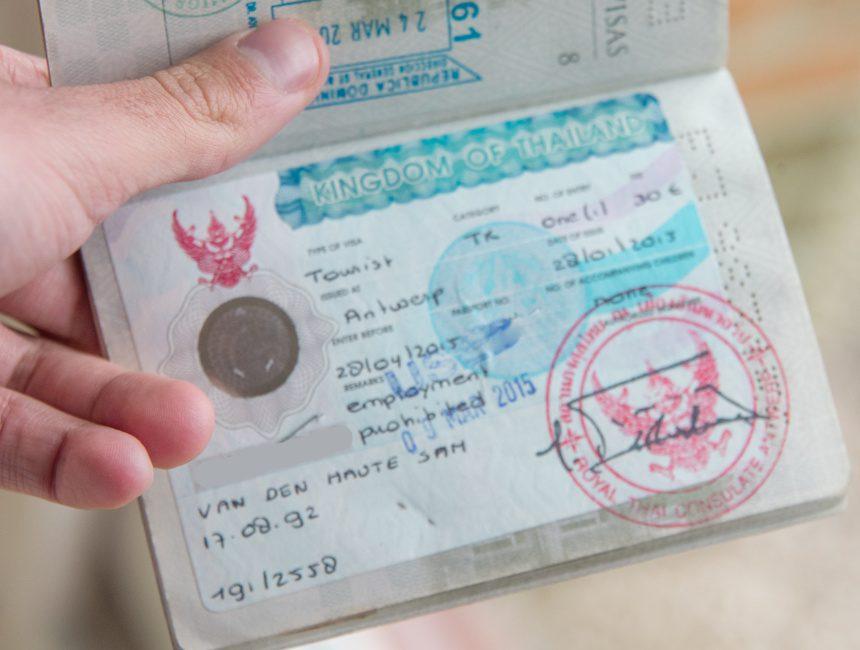 visum voor Thailand aanvragen