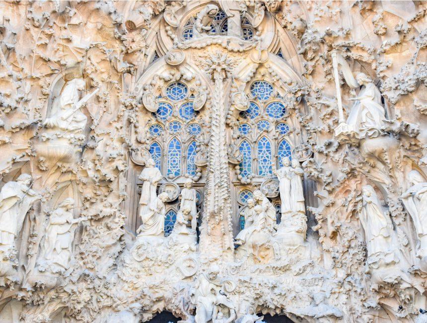 buitenkant Sagrada Familia