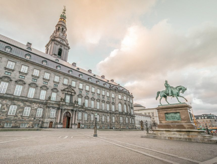 Christiansborg Paleis Kopenhagen
