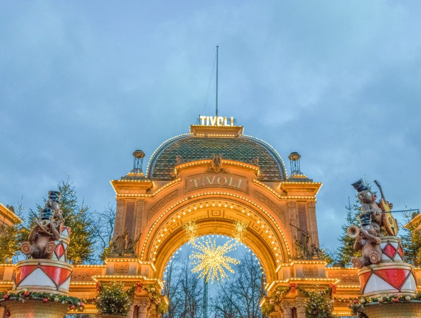 Ingang Tivoli Kopenhagen