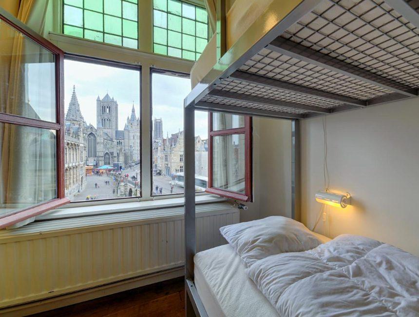 Jeugdherberg Gent hostel Uppelink
