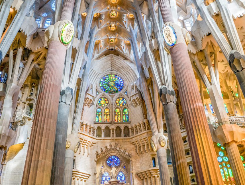 Kerk Gaudi Barcelona