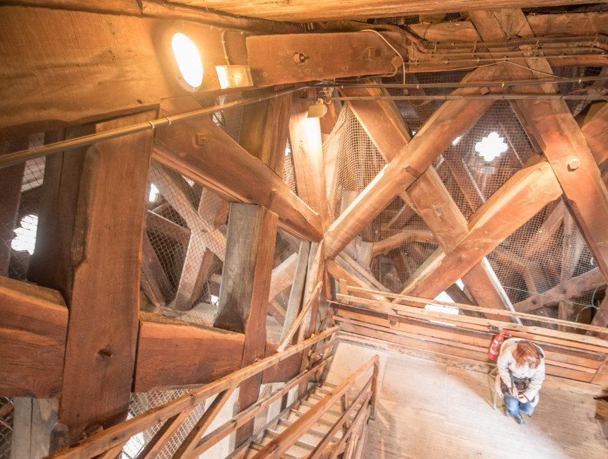 houten constructie notre dame brand