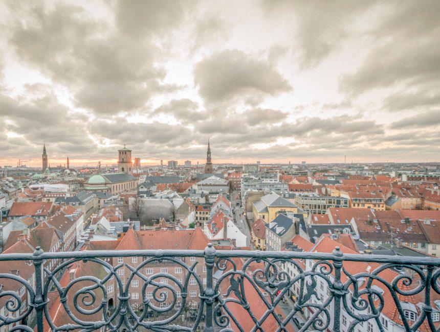 Rundetaarn Kopenhagen uitzicht