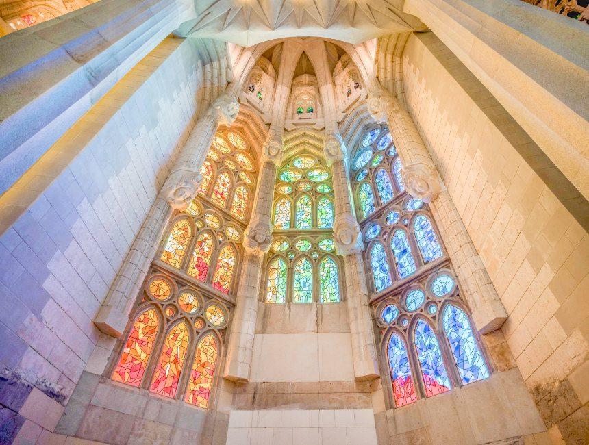 Sagrada Familia binnen