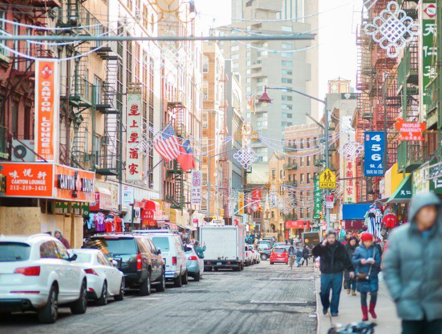 Chinatown New York buurten