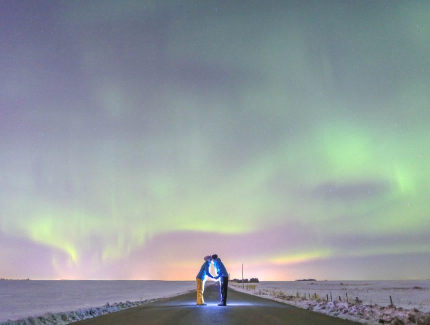 Edmonton noorderlicht