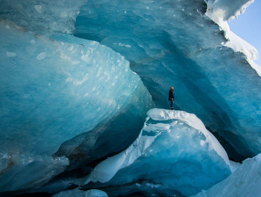 Jasper National Park ijsgrotten