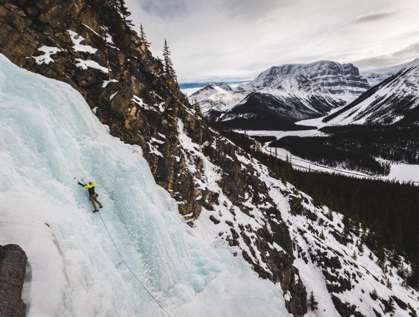 Jasper ijsklimmen
