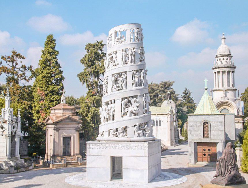 Milaan bezienswaardigheden Cimitero Monumentale