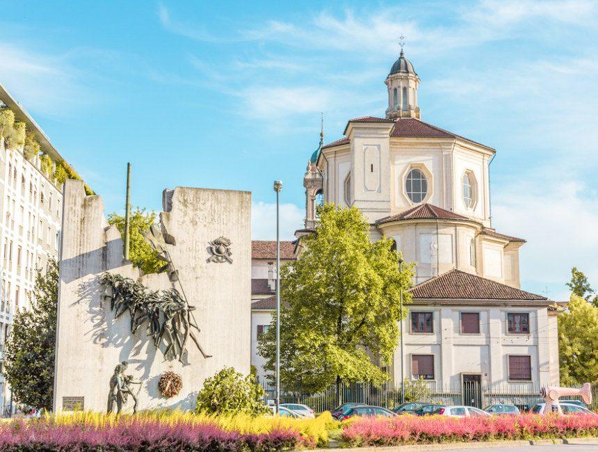 San Bernardino alle Ossa ossuarium Milaan