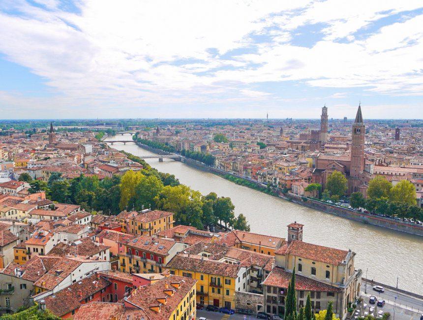 Verona dagtrip Milaan