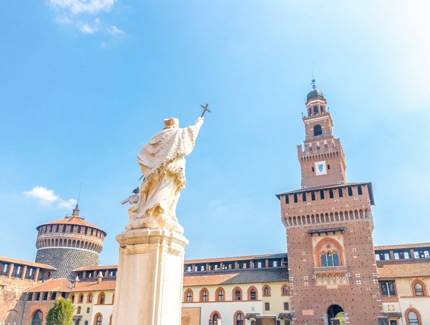 dingen om te doen in Milaan Castello Sforzesco