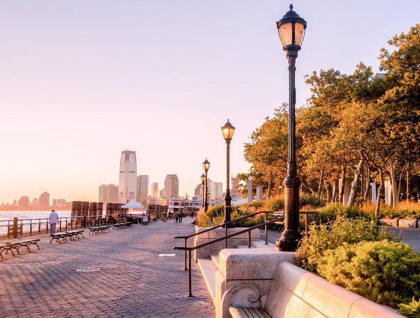 gratis bezienswaardigheden New York Battery Park