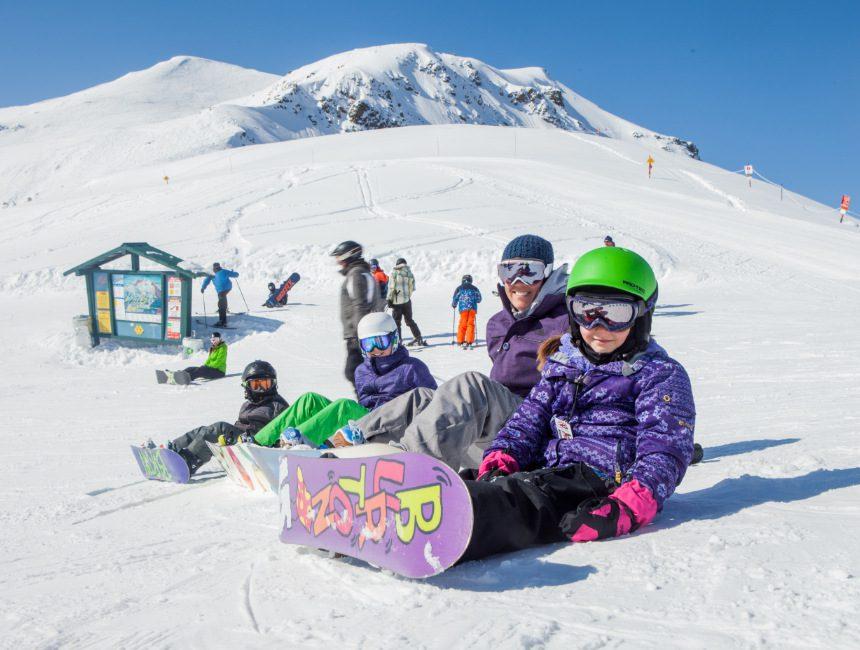 Marmot Basin kinderen snowboard