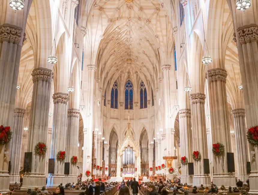 Saint Patrick's Cathedral New York binnenkant