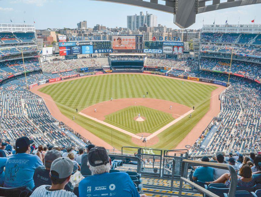 Yankees Honkbal kijken New York