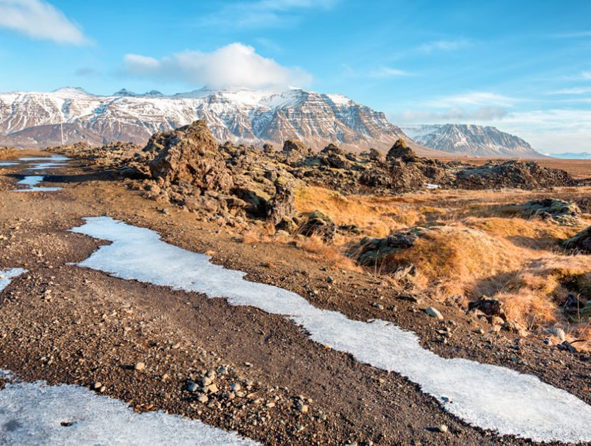 Eldhraun IJsland lavaveld