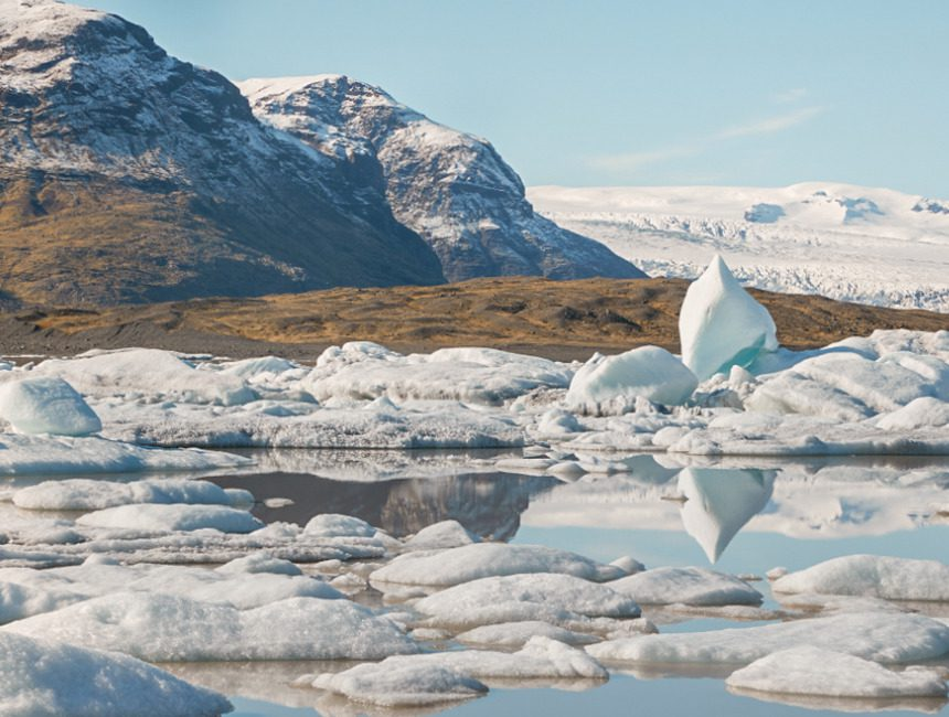 Fjallsárlón gletsjermeer IJsland