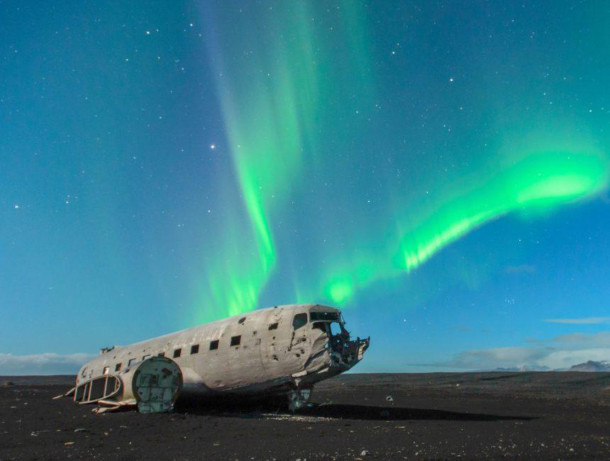 IJsland neergestort vliegtuig Navy DC