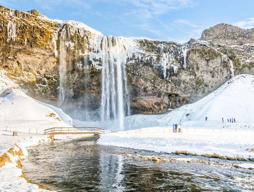 Seljalandsfoss waterval IJsland rondreis