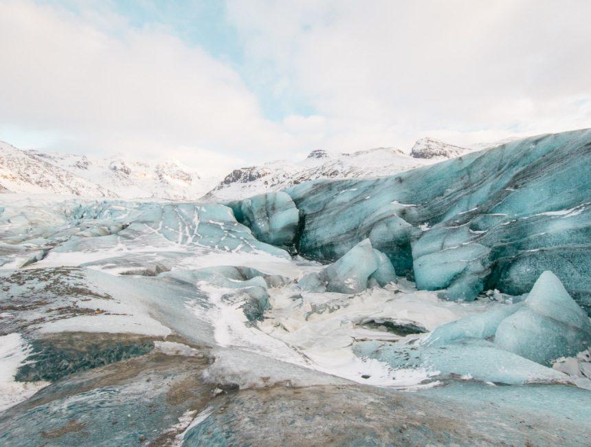 Skaftafell gletsjer wandeling IJsland