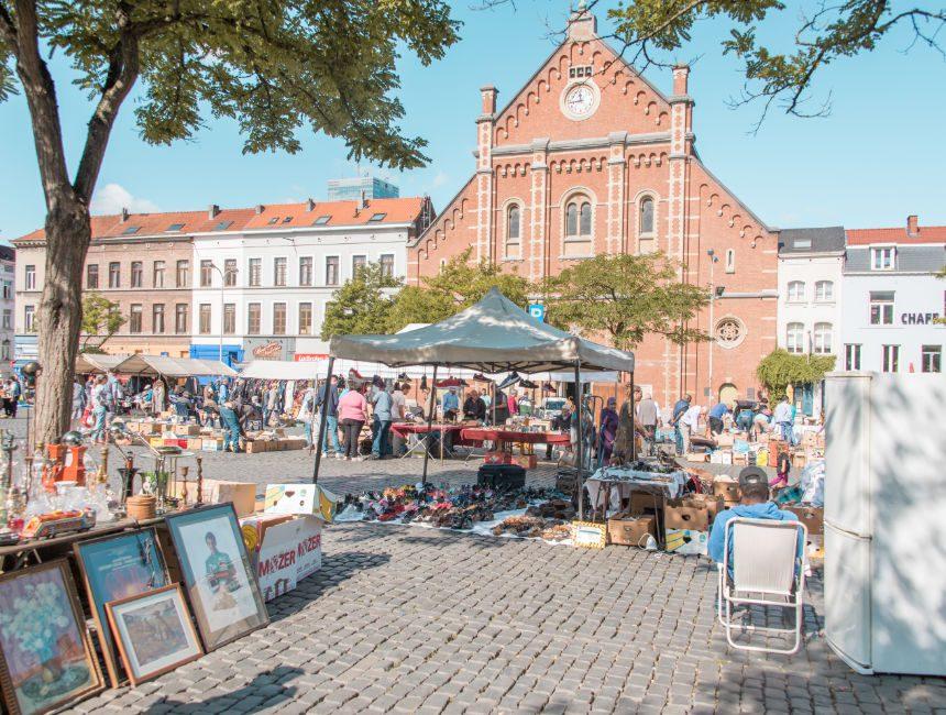 bezienswaardigheden Brussel rommelmarkt Marollen