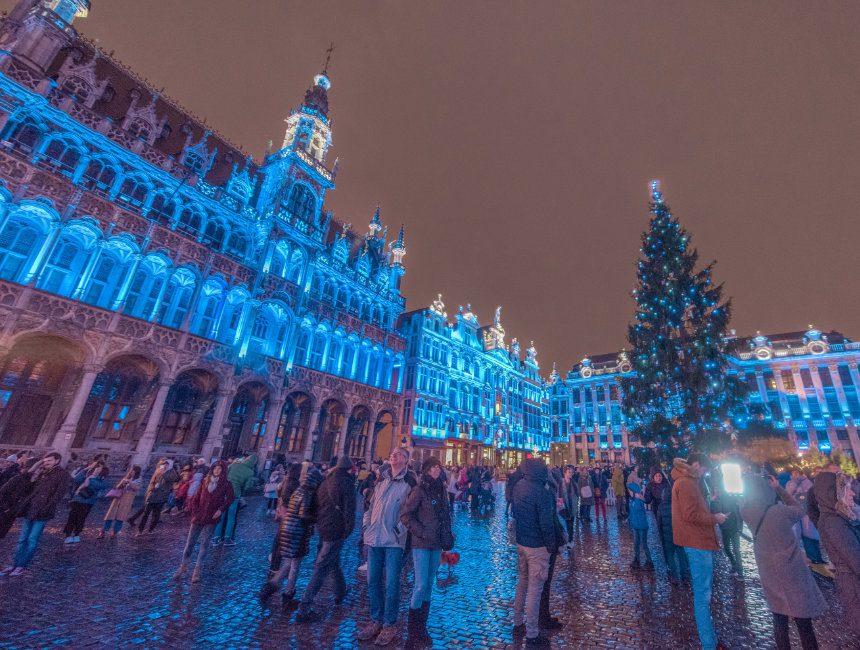 Brusselse kerstmarkt