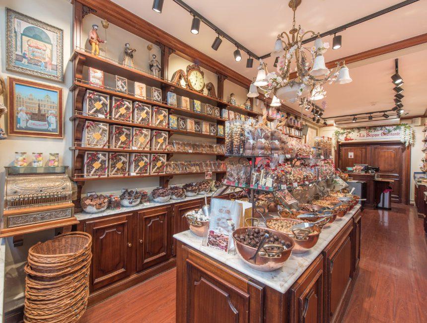 chocolade proeven Brussel activiteiten
