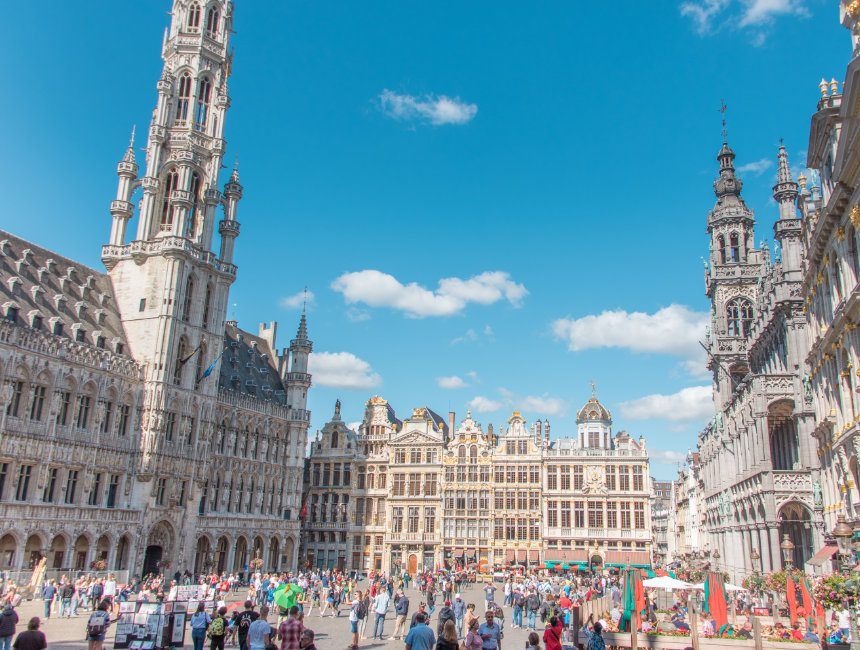 grote markt grand place Brussel