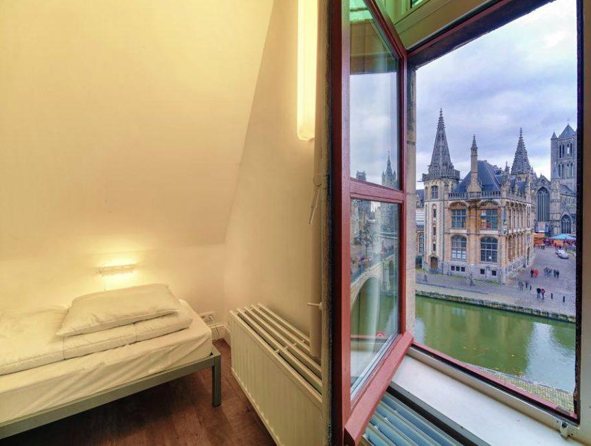 Hostel Uppelink goedkoop overnachten Gent