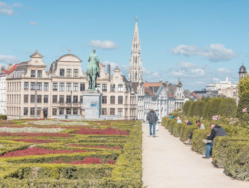 kunstberg mont des arts Brussel