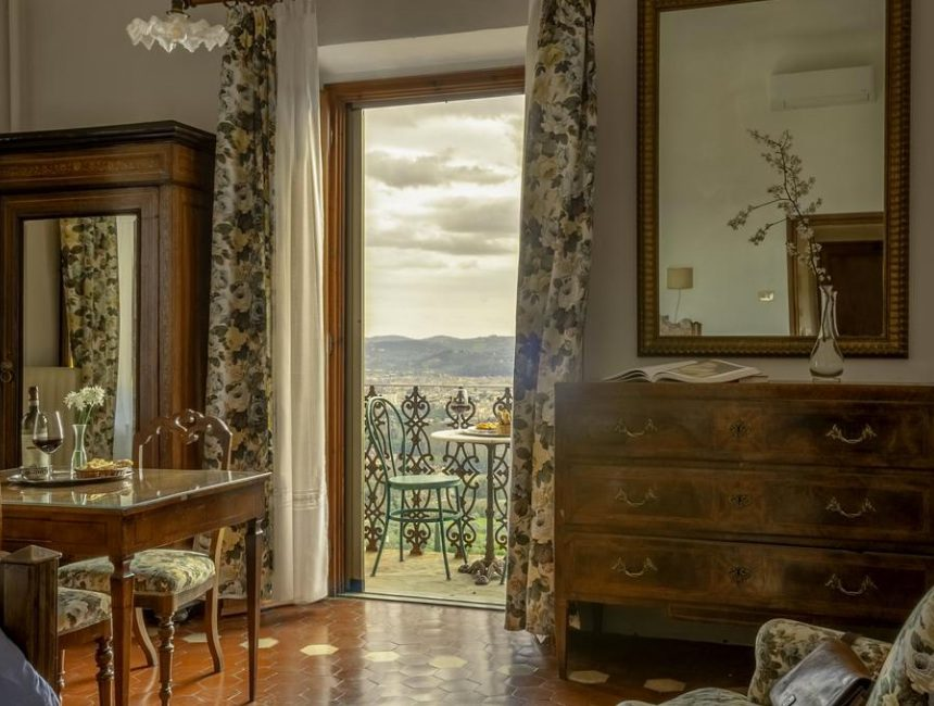 luxe hotel Florence Pensione Bencistà