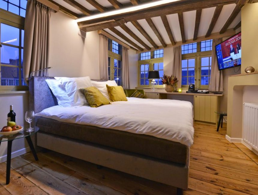 luxe hotels Gent Rooms With A View