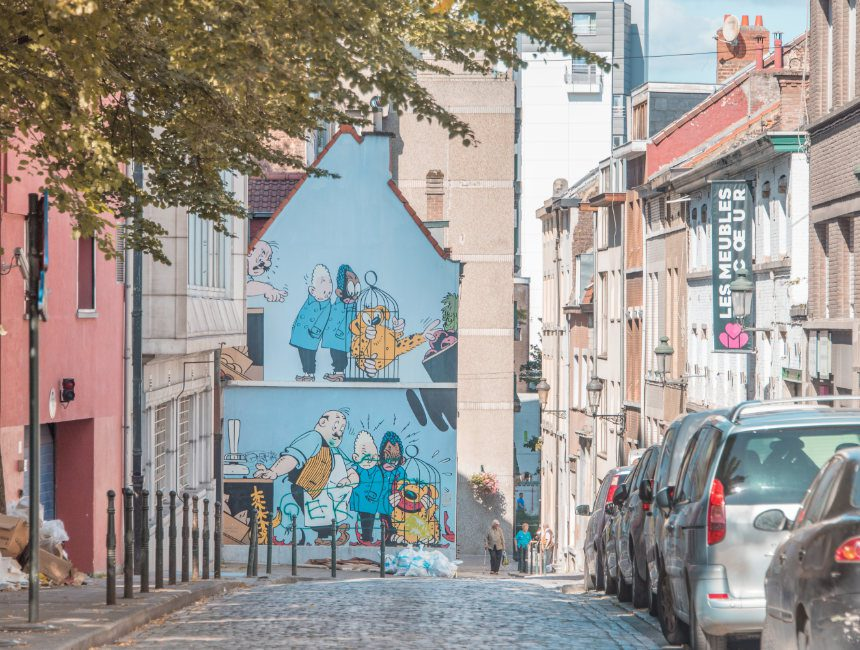 marsupilami striproute Brussel