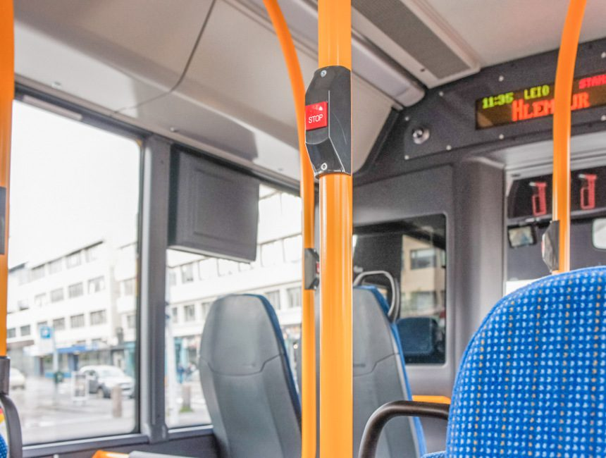 openbaar vervoer Reykjavik