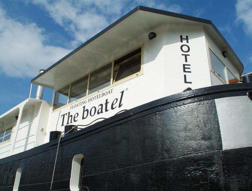 overnachten Gent Hotel The Boatel