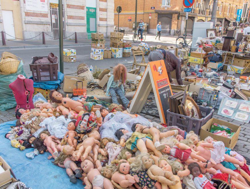 rommelmarkt Marollen
