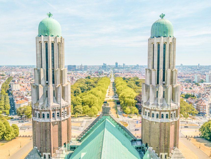 uitzicht basiliek van Koekelberg
