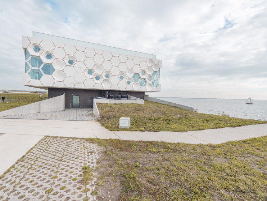 Afsluitdijk Wadden Center rondreis Nederland