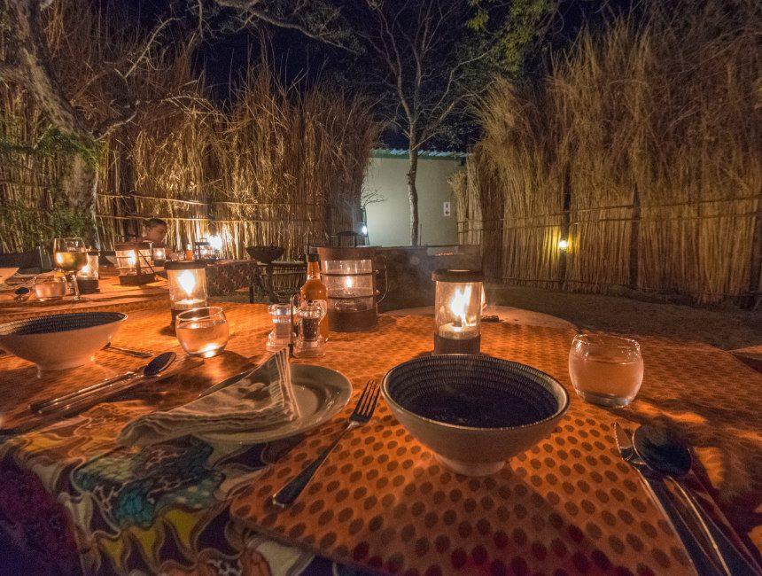 avondeten boma zuid-afrika