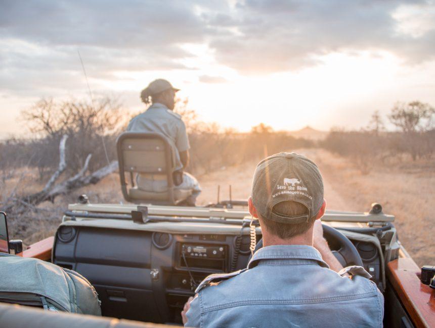 rangers sausage tree safari camp jeep