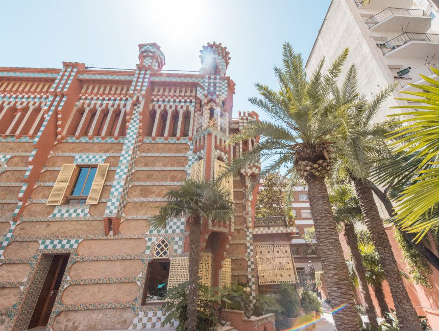 Casa Vicens bezoeken 4 dagen in Barcelona
