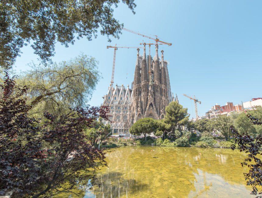 citytrip Barcelona Sagrada Familia
