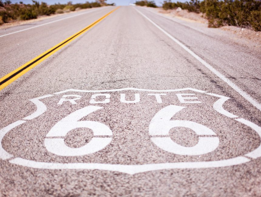 Auto huren Amerika Route 66