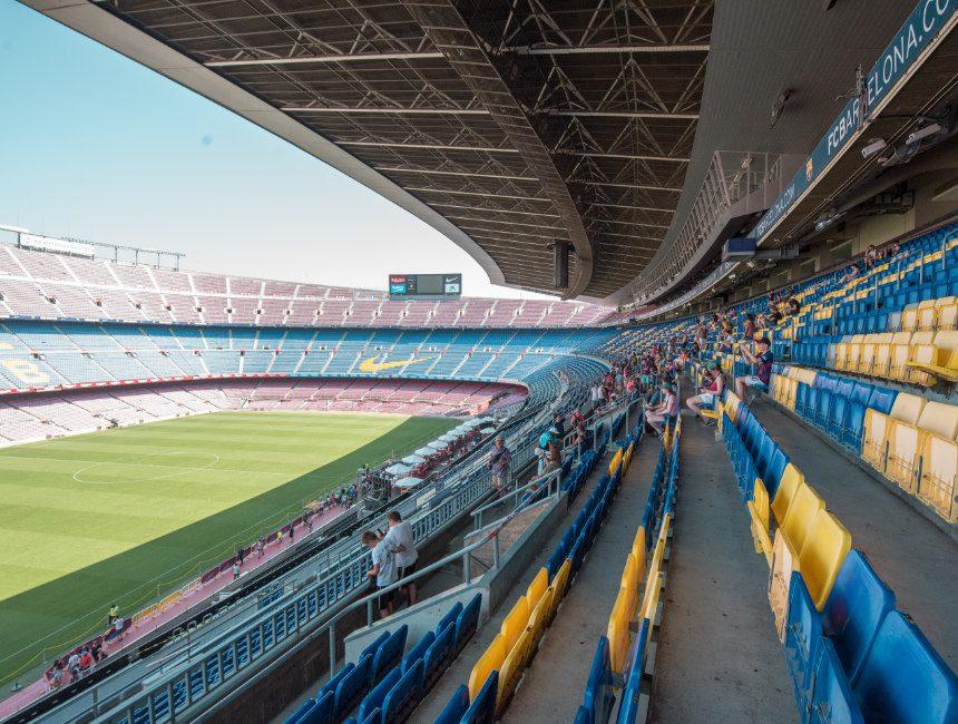 Camp Nou barcelona in 4 dagen