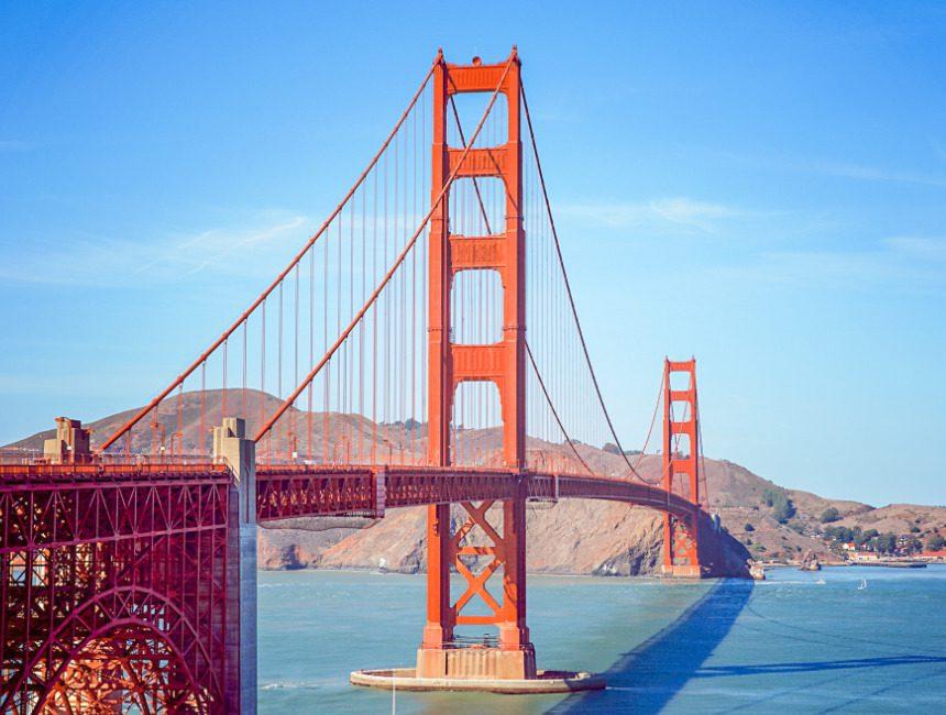 huurauto Verenigde Staten San Francisco Golden Gate Bridge
