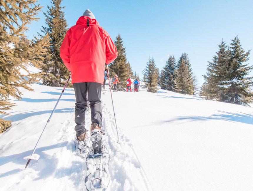 sneeuwschoen wandelen noorwegen
