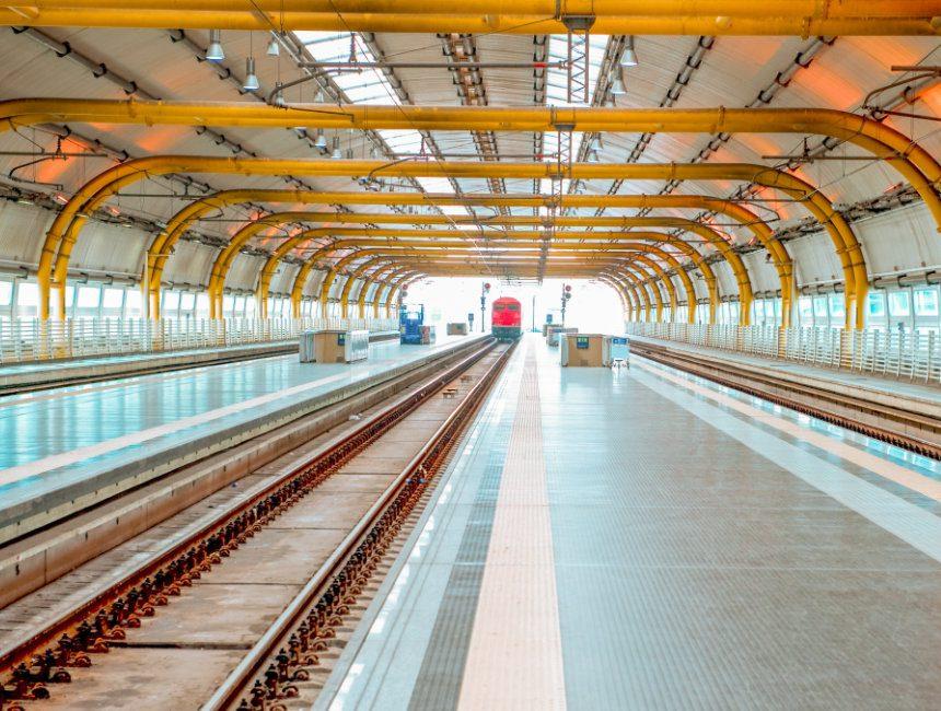 vervoer vliegveld Rome trein