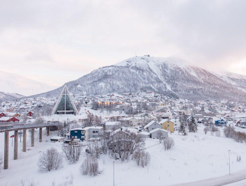 wandeling brug Tromso